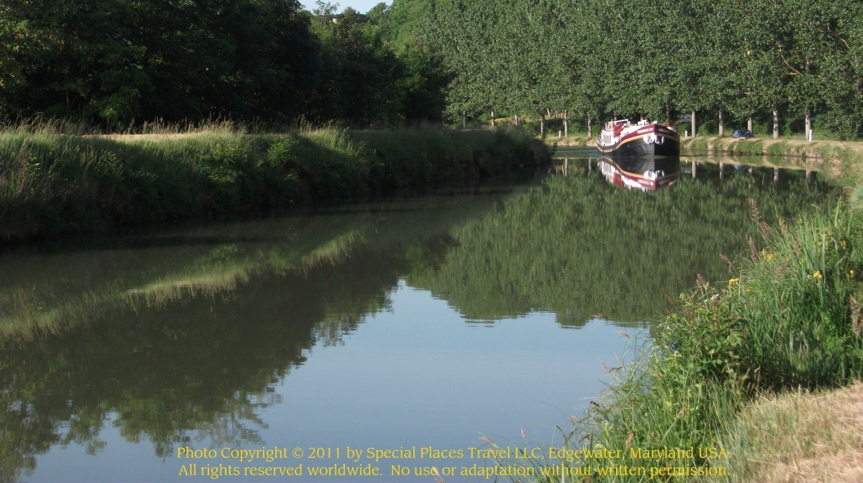 Barges In France, Barges In Europe: for the experience of a lifetime  -- pampered cruises, exceptional cuisine, wines, intimate, crew-guided excursions  into the heart of France and other countries in Europe.  Contact Barges in France, division of Special Places Travel at  info@specialplacestravel.com, or phone 1-877-642-2743 in US,  or 001.443.321.3614 outside of the US.