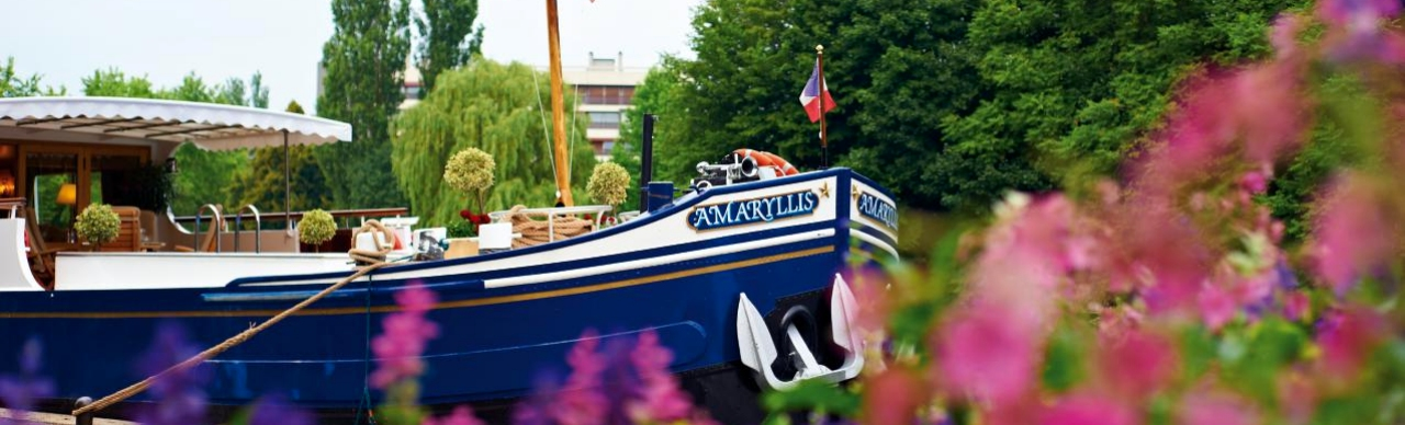 Barge Cruises In France and Europe: Photo Gallery for Barge Amaryllis