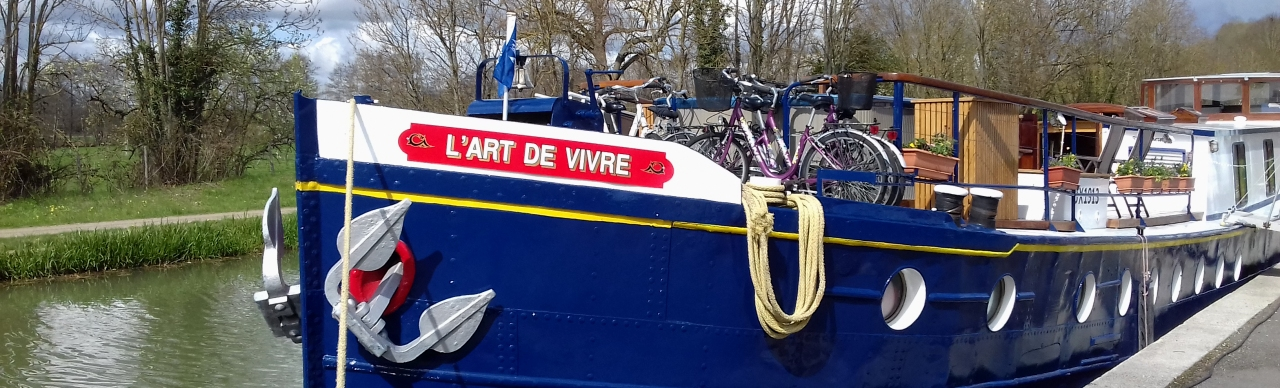 Barge Cruises In France and Europe: Photo Gallery for Barge L'Art de Vivre