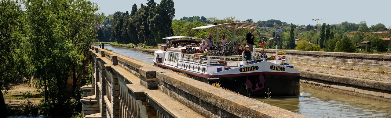 Barge Cruises In France and Europe: Photo Gallery for Barge Athos