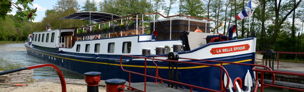 Barge Cruises In France and Europe: Photo Gallery for Barge La Belle Epoque