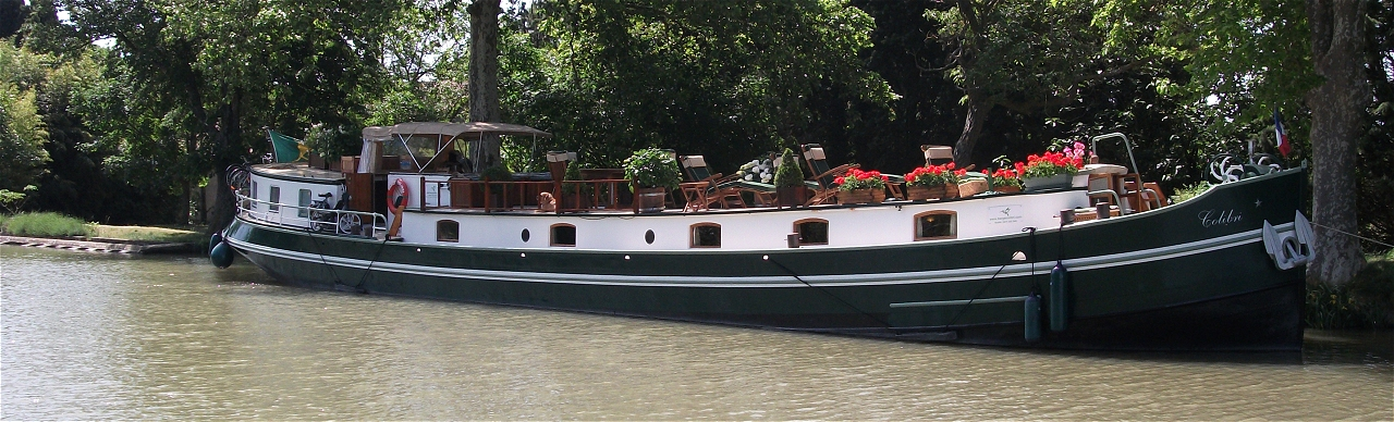 Barge Cruises In France and Europe: Photo Gallery for Barge Colibri