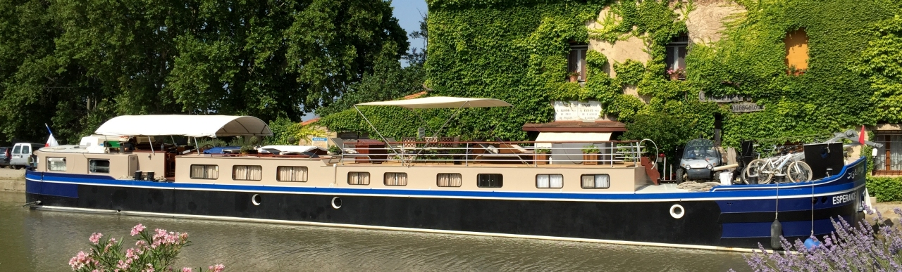 Barge Cruises In France and Europe: Photo Gallery for Barge Esperance
