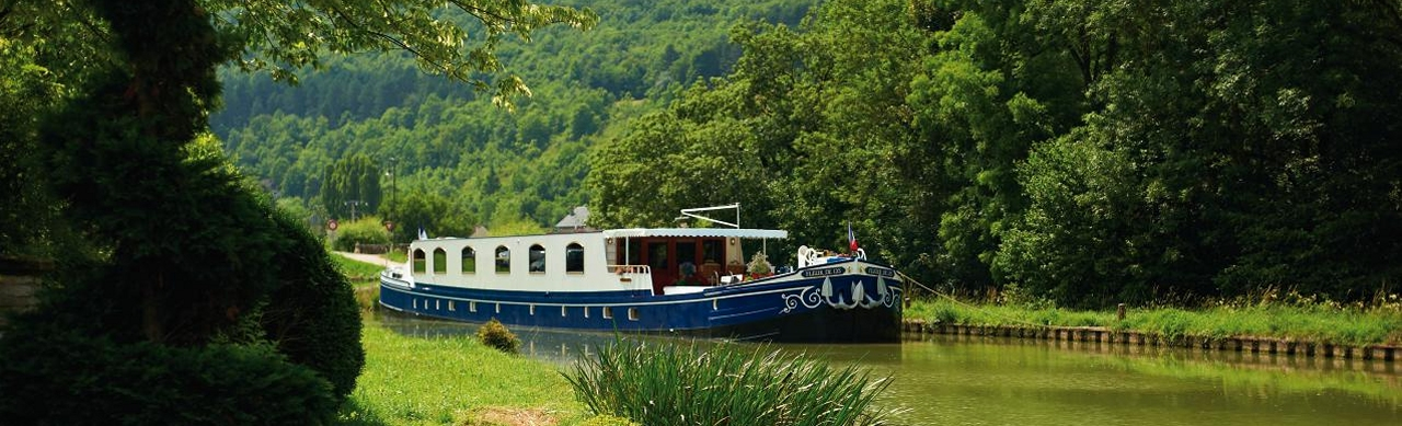 Barge Cruises In France and Europe: Photo Gallery for Barge Fleur de Lys