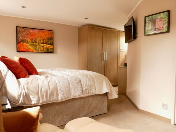 The cabins aboard the Grand Cru offer either king or twin beds