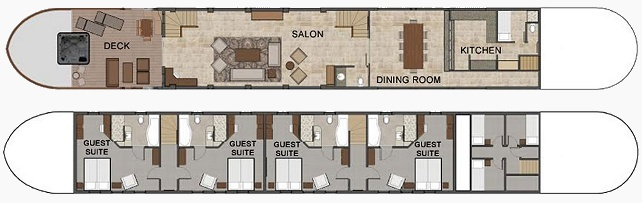 Grand Cru's Deck Plan