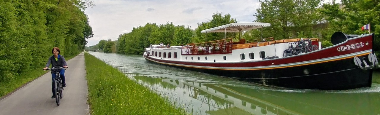 Barge Cruises In France and Europe: Photo Gallery for Barge Hirondelle
