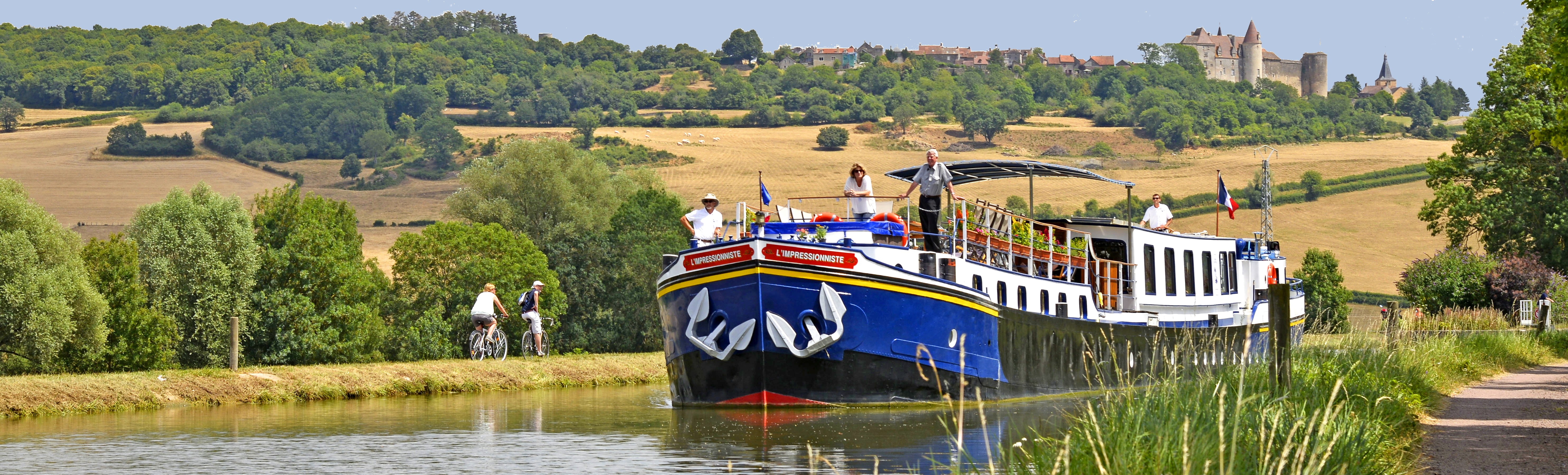 Barge Cruises In France and Europe: Photo Gallery for Barge L'Impressionniste