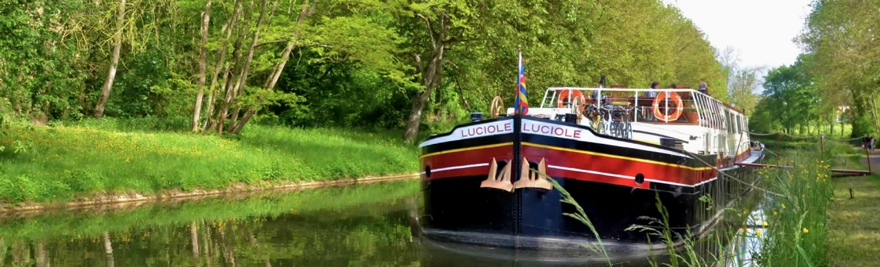 Barge Cruises In France and Europe: Photo Gallery for Barge Luciole