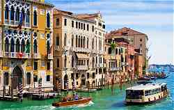 Top Barge Cruises in Europe: Barge Cruise Scene in Italy: Magical Venice