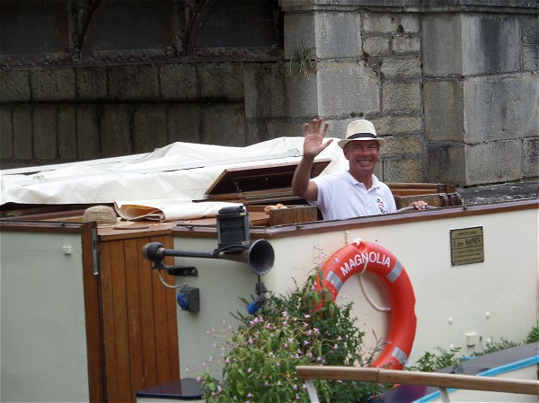 Your friendly captain, Nico will guide you on a week of cruising and touring<br>aboard the Magnolia along the Canal de Bourgogne.