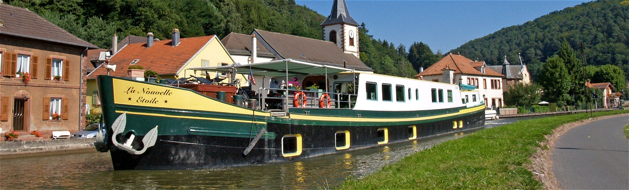 Barge Cruises In France and Europe: Photo Gallery for Barge La Nouvelle Etoile