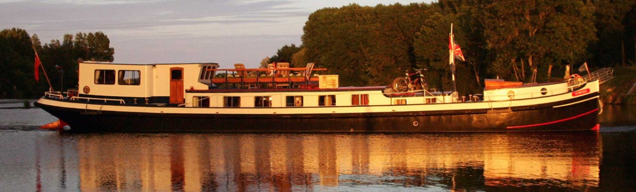 Barge Cruises In France and Europe: Photo Gallery for Barge Nymphea