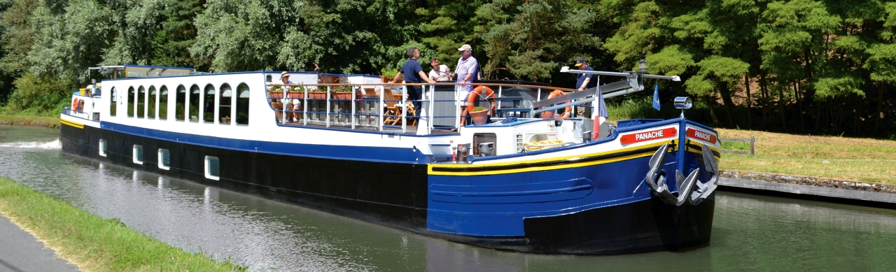 Barge Cruises In France and Europe: Photo Gallery for Barge Panache