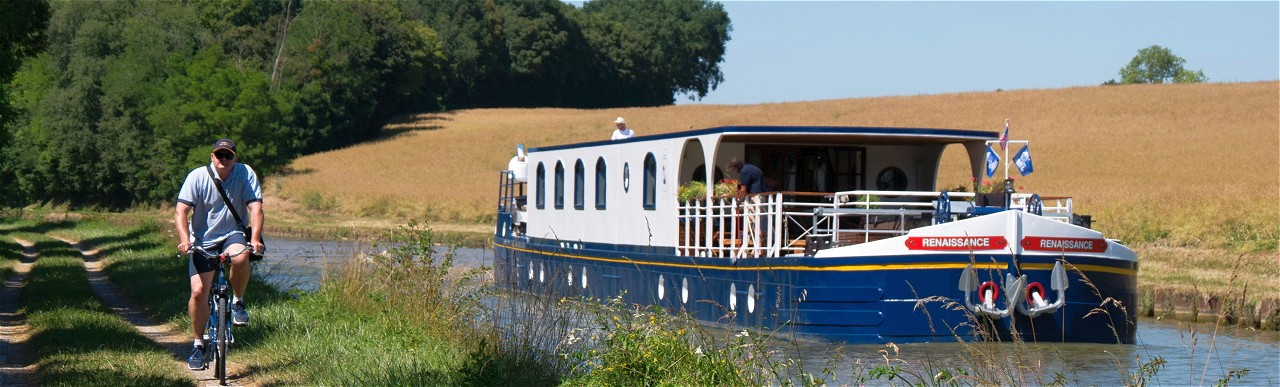 Barge Cruises In France and Europe: Photo Gallery for Barge Renaissance