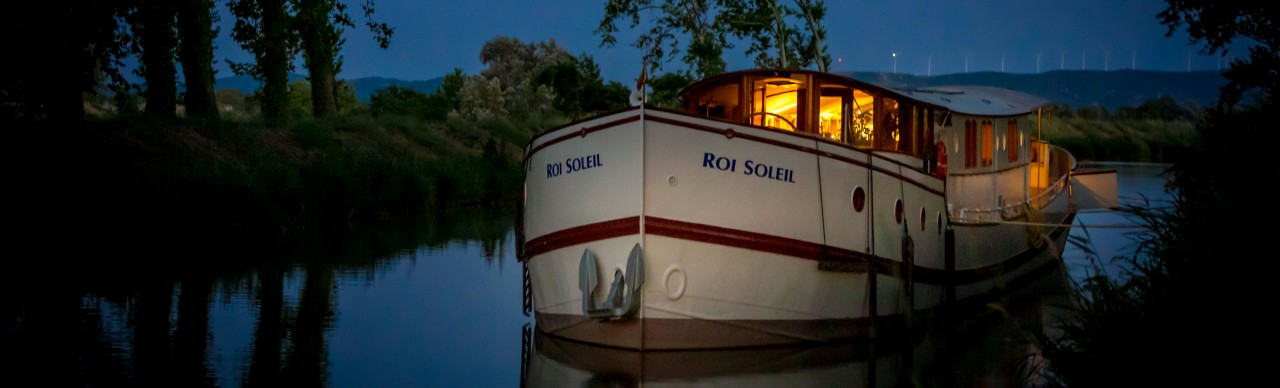 Barge Cruises In France and Europe: Photo Gallery for Barge Roi Soleil