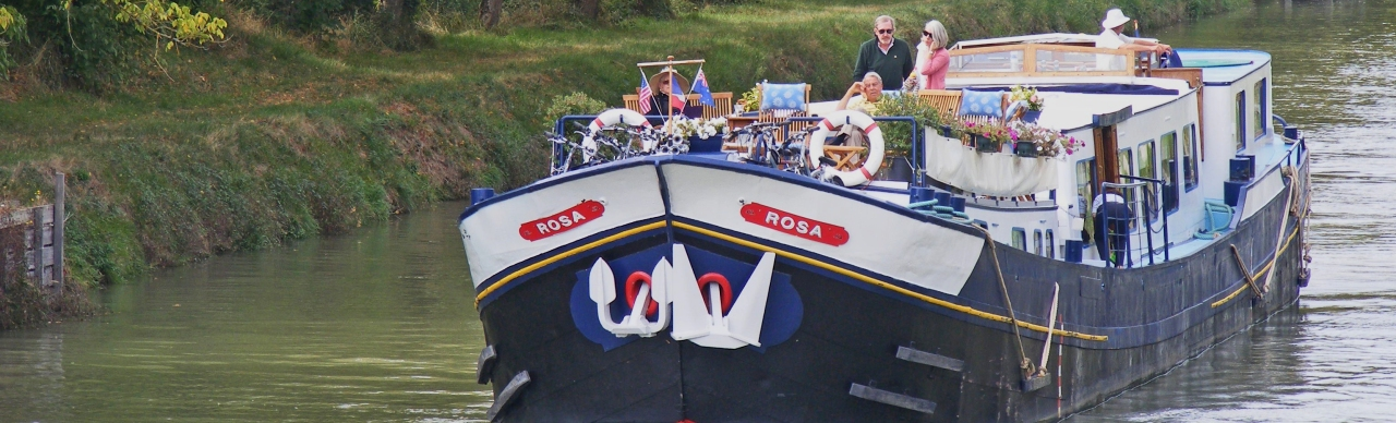 Barge Cruises In France and Europe: Photo Gallery for Barge Rosa