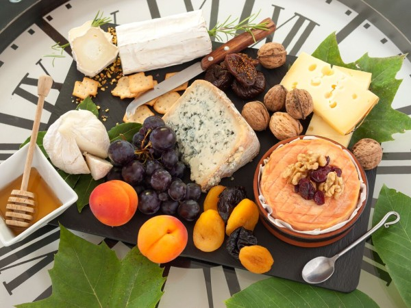 The generous cheese board will allow you to try the many different cheeses from the region