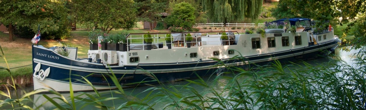 Barge Cruises In France and Europe: Photo Gallery for Barge Saint Louis