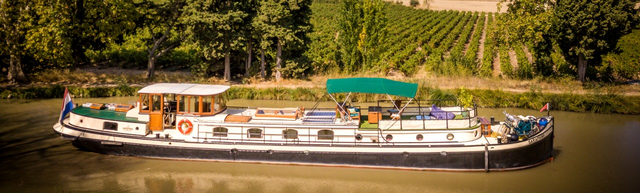 Barge Cruises In France and Europe: Photo Gallery for Barge Saraphina