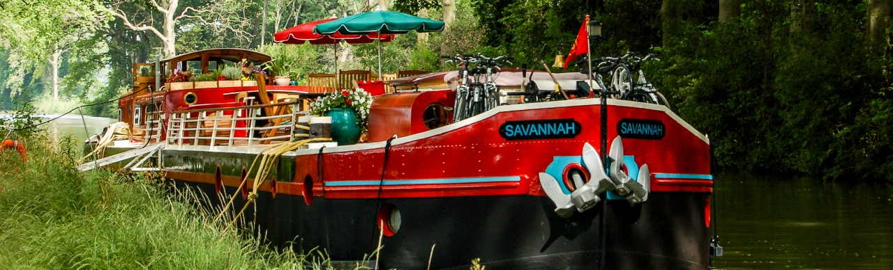 Barge Cruises In France and Europe: Photo Gallery for Barge Savannah