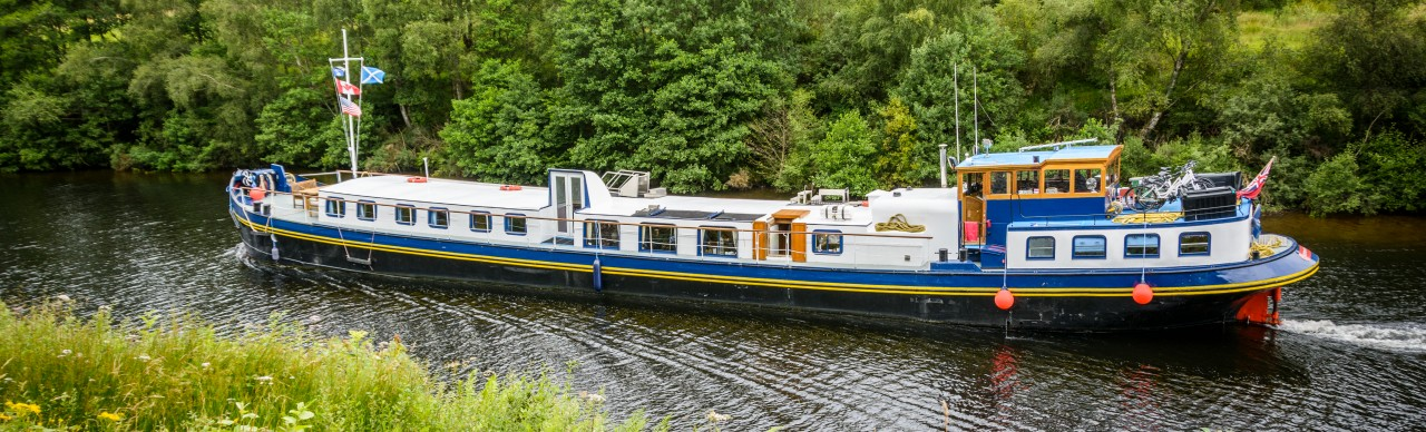Barge Cruises In France and Europe: Photo Gallery for Barge Scottish Highlander