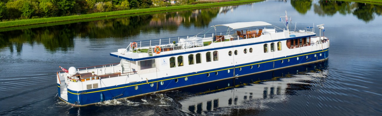 Barge Cruises In France and Europe: Photo Gallery for Barge Spirit of Scotland