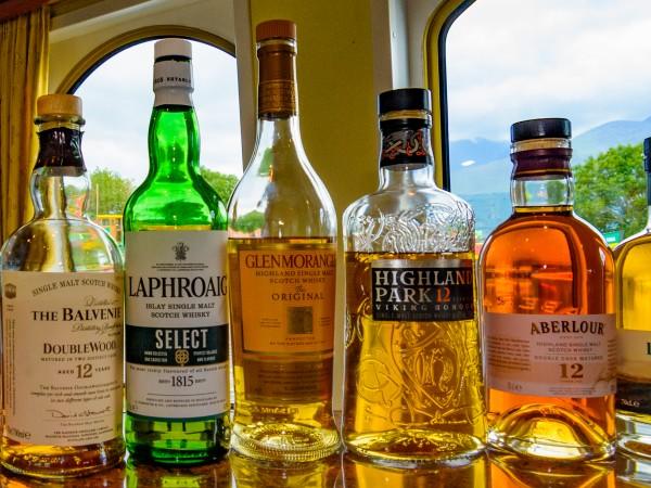 Enjoy the wonderful Scottish single malt whiskies